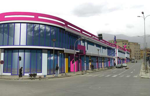 Exterior Design: 600 m²
